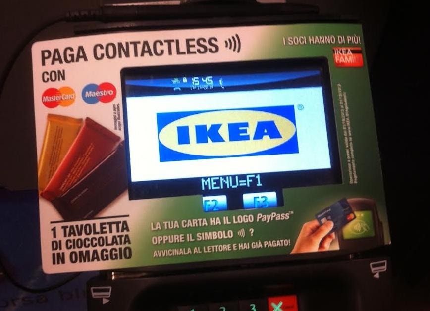 Ikea carta di credito