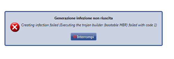 finspy italian error